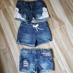 Girls shorts bundle